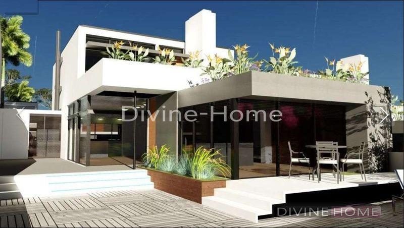 Vrijstaande villas in moderne stijl met vier slaapkamers twee